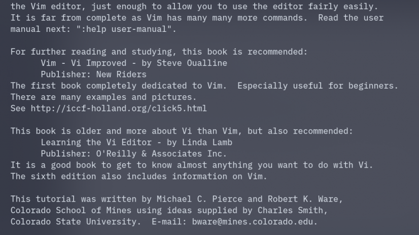 VIM Tutor – Getting Started With VIM
